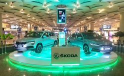 SKODA turns Mumbai airport into stunner ramp