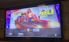 Delhi metro advertising restarts with 'Khaali Peeli' movie promotion