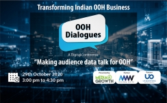 'OOH Dialogues' on 'Making audience data talk for OOH' today