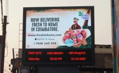 FreshToHome launches hyperlocal DOOH campaign in Coimbatore