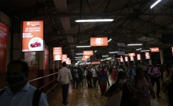 Bank of Baroda reaffirms customers' confidence with an exclusive railway station branding