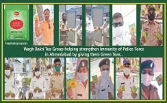 Wagh Bakri brews new initiative to fight Covid19 spread