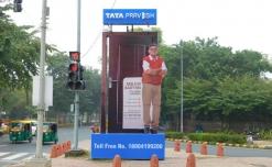 Tata Pravesh's gigantic 3D installations strengthen brand positioning