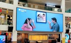 Mega LED screen promises infinite opportunities to brands