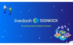 Signkick and LiveDOOH merge to offer common media owner platform