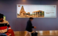 Tourism industry back to wooing travelers with airport advertising