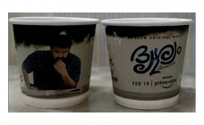Catch 'Drishyam 2' now on paper cups!