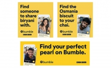 Bumble opts localised OOH approach to share dating tips & tricks