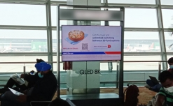 HDFC Life greets air travelers with real time campaign