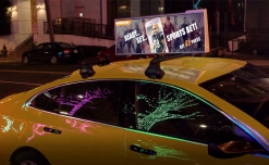 Adomni powered Uber OOH expands digital cartop advertising network to New York City