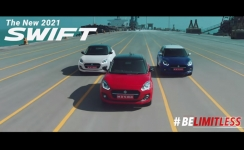 Maruti Suzuki launches New 2021 Swift Campaign