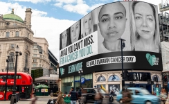 Women with deadly cancer organise Piccadilly Lights, Times Square billboard campaign to raise awareness
