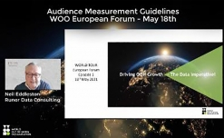 WOO to unveil new audience measurement initiative at European Forum on May 18