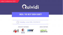 Quividi to organise conference on 'India, the next DOOH Giant?' on June 29