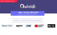 Industry leaders to discuss 'New Business Models' at Quividi India Conference on June 29