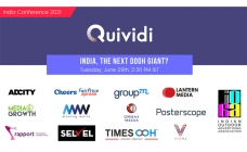 """Quividi Conference on """"India, the next DOOH giant?"""" on June 29"""