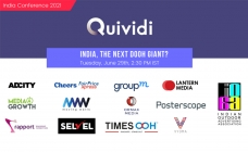 Quividi India Conference today, focus on DOOH growth, audience metrics, monetising business models
