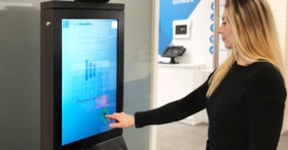 imageHOLDERS launch touchless kiosk powered by Ultraleap technology