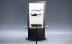 Ultraleap touchless interactive ad kiosks on CEN networks to engage US moviegoers returning to theatres