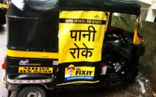 Dr. Fixit protects auto passengers from rain