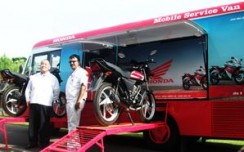 Honda taps rural audience with mobile service vans