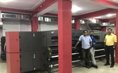 Pixel 2 Print Bangalore instals Efi-VUTEk®GS3250LXr Pro LED UV printer