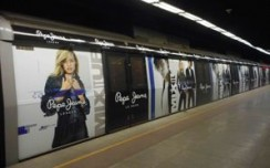 Varied brands adorn metro wraps
