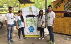 GAIL (India) promotes Swachh Air Mission in Delhi