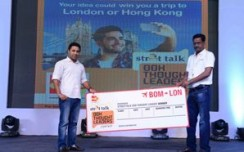 Abhishek Banerjee wins the Streettalk OOH Thought Leaders Contest at OAC 2015