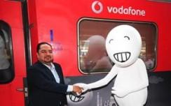 Vodafone wraps Ahmedabad-Mumbai Shatabdi to showcase'faster, smarter' offerings