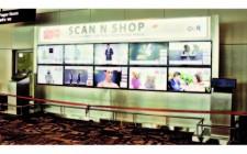 HomeShop18's Virtual Shopping Wall in IGI Airport