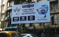 Videocon's festive OOH promotes D2H in the East
