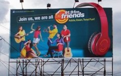 Friends 91.9 tuned to OOH for brand relaunch