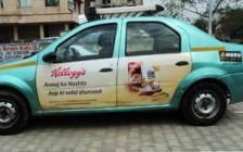 Kellogg's breakfast drive in Meru cabs