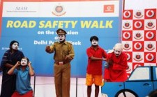 Vodafone calls attention to road safety