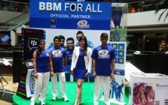 Blackberry runs BBM channel for Mumbai Indians' fans