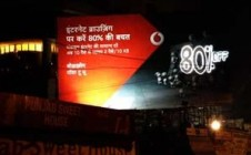 Vodafone rides high on LED displays for Pay Go