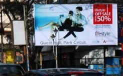 Lifestyle goes big on OOH in Kolkata