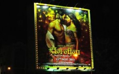 Now showing on OOH:'Ram Leela'!