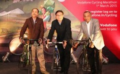 Vodafone to roll out innovative OOH campaigns to promote cycling marathon