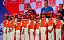 Vodafone Superfan Junior contest gives 22 kids a feel of IPL turf