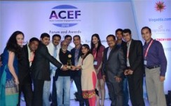 Vritti emerges Most Admired Rural Marketing Agency at ACEF Awards 2016
