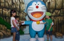 DLF Place Saket woos kids with Doraemon's activities