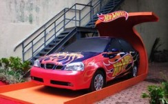 Mattel Toys creates impact with larger-than-life display of Hot Wheels