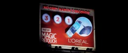 L'Oreal showcases the 'Magic Touch' in outdoor