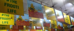 Frooti at the pandal