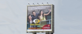 Colors build an extensive OOH campaign for Big Boss Season 11