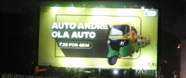 Ola hits the streets to promote auto service offering