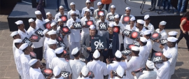 Pizza Hut joins hands with Dabbawalas to celebrate 9k milestone