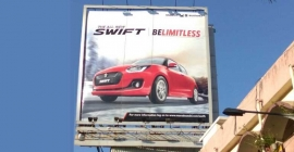 Swift goes to town with 'Be Limitless' proposition